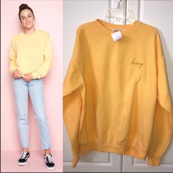 Brandy Melville Sweaters Erica Honey Sweatshirt Poshmark